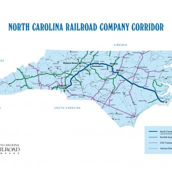 NORTH CAROLINA RAILROAD MONUMENTATION SURVEY (NCRR)